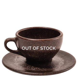 Out of Stock Cappuccino Cup and Saucer