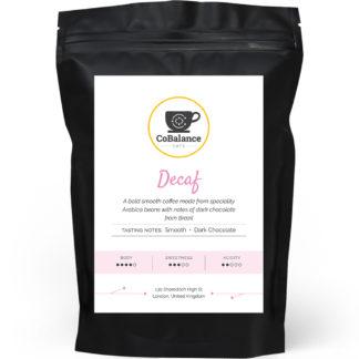 Decaf Coffee Packaging